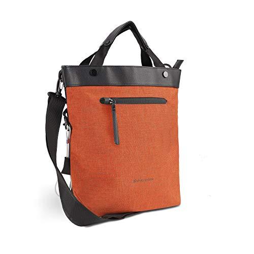 Sherpani Geo, Anti Theft Crossbody Bag, Tote Bag, Travel Shoulder Bag, Medium Crossbody Purses for Women Fits 10 Inch Tablet (Copper)