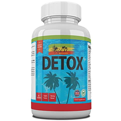 Detox Colon Cleanse Capsules - Daily Treatment to Cleanse Colon Using...