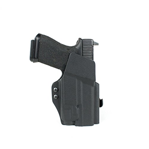Priority 1 Holsters Outside The Waistband Holster for Glock 19 / 23 / 32 with Streamlight TLR-7 OWB Kydex Holster
