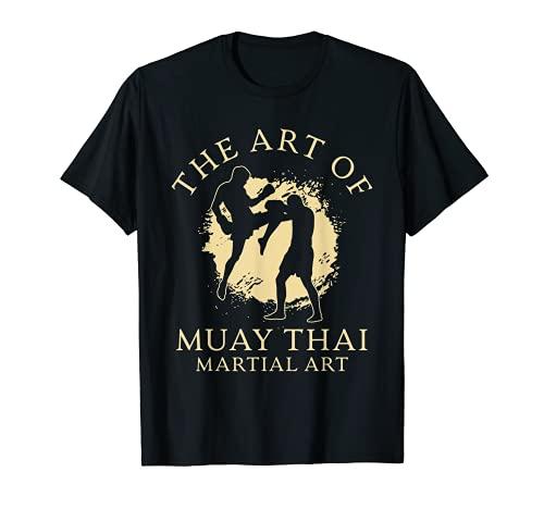 Kickboxer El arte de Muay Thai artes marciales entrenamiento MMA Camiseta