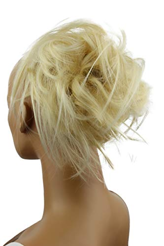PRETTYSHOP Hairpiece Hair Rubber Scrunchie platinumblond 613A G3F Size No Size