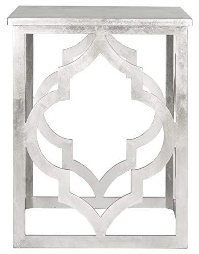 Safavieh Beistelltisch, Silber, 47.00 x 47.00 x 58.42 cm