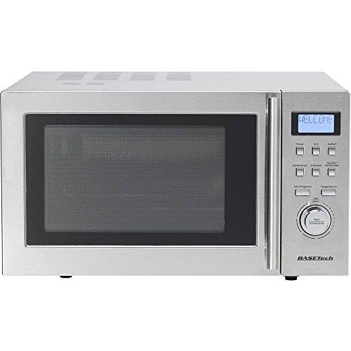 Basetech D90D25 Mikrowelle 900 W Grillfunktion, Heißluft-Funktion, Timerfunktion