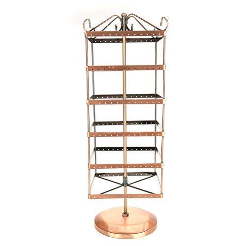 Sieradenstandaard sieradenstandaard metaal sieradenstandaard 288 draaibare gaten 6 lagen oorbellen