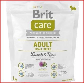Brit Care Adult Small Breed Lamb & Rice Comida para Perros - 1000 gr
