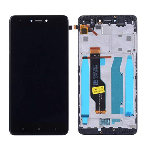 Pantalla LCD de Cristal táctil para Xiaomi Redmi Note 4X/Note 4 Global Glass de Montaje de Panel de Montaje de Marco de Pantalla (Color: Negro)