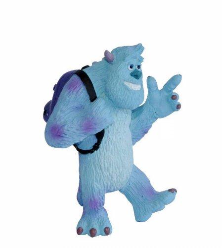Bullyland 12583 - Spielfigur, Disney Pixar Die Monster AG, Sulley, ca. 7,7 cm, ideal als Torten-Figur, detailgetreu, PVC-frei, tolles Geschenk für Kinder zum fantasievollen Spielen