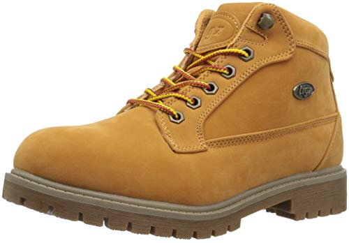 Lugz Women's Mantle Mid Fashion Boot, Golden Wheat/tan-Khaki/Gum, 7 M US