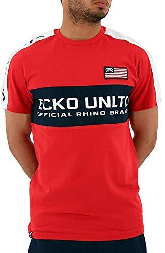 Ecko Hombre EUA Kilson Rojo Manga Corta Verano Camisetas - Rojo, Large