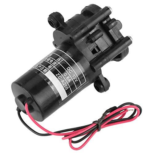 Bomba de agua Boaby 12V ZC-A250 Mini bomba de agua de engranajes CC autocebante resistente a la corrosión