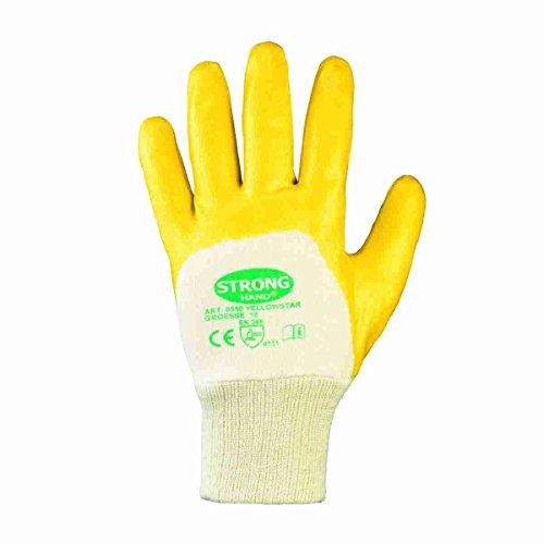 Nitril YELLOW Nitril-Handschuhe (12er Pack) 7,Gelb