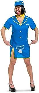 Folat - Disfraz de Auxiliar de Vuelo para Hombre - Talla : XL-XXL