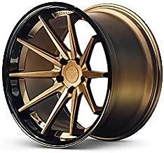 Ferrada Wheels FR4 20x10.5 et15 & 20x11.5 et30 5x115 Matte Bronze / Gloss Black Lip C.B 73.1 / Charger Challenger Hellcat SRT8