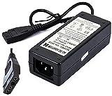 CARGADOR ESP Cargador Corriente 12V 5V 2A 2000mA Compatible con reemplazo para Disco Duro MOLEX IDE External Hard Drive Recambio Replacement