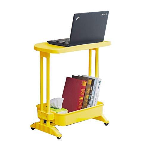 Decoración de muebles, mesita de noche para computadora portátil, extraíble, dormitorio en casa, mesa perezosa, dormitorio para estudiantes, escritorio, escritorio, artículos esenciales para el hog