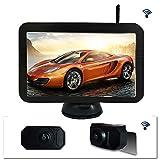 JLYI ADC WX7310D 7 pulgadas HD 720P digital inalámbrico Conjunto de coches cámara de visión trasera for estacionamiento de reserva de seguridad, IP67 a prueba de agua, Amplio ángulo de visión: 170 gra