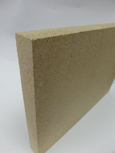 Vermiculite Schamottersatz schamottstein épaisseur 2 cm