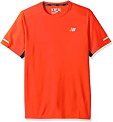 New Balance Ice Camiseta de Manga Corta Rojo para Hombre - AW16