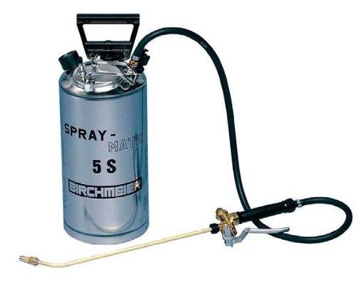Drucksprühgerät Birchmeier Spray Matic 5 S Edelstahl Handpumpe und Pressluftanschluß
