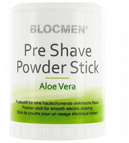 BLOCMEN Alö Vera Pre Shave Powder Stick 60 g
