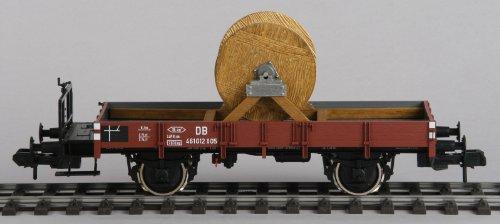 Märklin I 58283 - Spur I - Güterwagen Niederbordwagen beladen mit Kabeltrommel