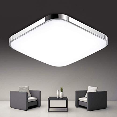 BFYLIN 48W Regulable LED Lámpara Moderna Del Techo Lámpara De Techo Pasillo Salón Dormitorio De La Lámpara Ahorro De Cocina de la lámpara (48W Regulable)