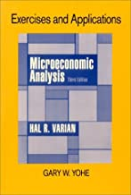 Exercises and Applications for Microeconomic Analysis: 3rd (Third) edition