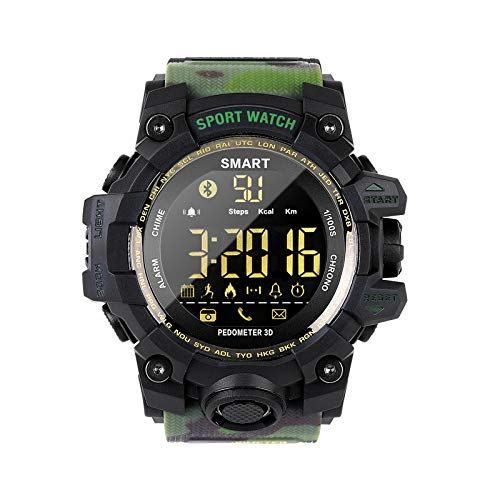 KID Love, EX16S, waterdichte sport-smartwatch, camouflage buitenshuis, bluetooth-afstandsmeter, controle foto, lang stand-bysmartwatch