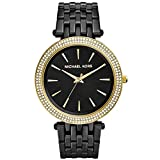 Maritime Antiques Michael Kors MK3322 Darci Black and Golden Glitz Damenuhr