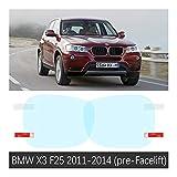Protectora de Espejo Retrovisor de Coche For BMW X3 E83 F25 G01 2004 ~ 2020 de...