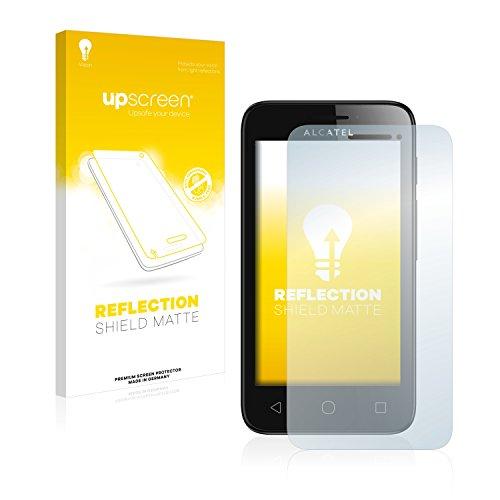 upscreen Entspiegelungs-Schutzfolie kompatibel mit Alcatel One Touch Pixi First – Anti-Reflex Bildschirmschutz-Folie Matt