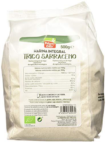 La Finestra Sul Cielo - Harina Integral de Trigo Sarraceno, 500 g