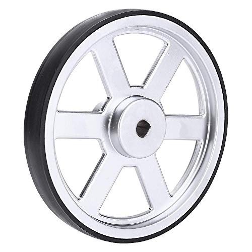 Robot Wheels, 90 Mm Industrial Robot Wheels With Built-In Hubs, 6 Mm D-Shaped Steel Shafts, Can Be Used For Diy Robot Vehicles And Robots