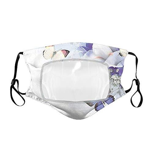 Eariy - 5 bandanas reutilizables a la moda para la cara con