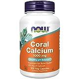 NOW 1000Mg Coral Calcio 100 Veg Capsule - 100 g