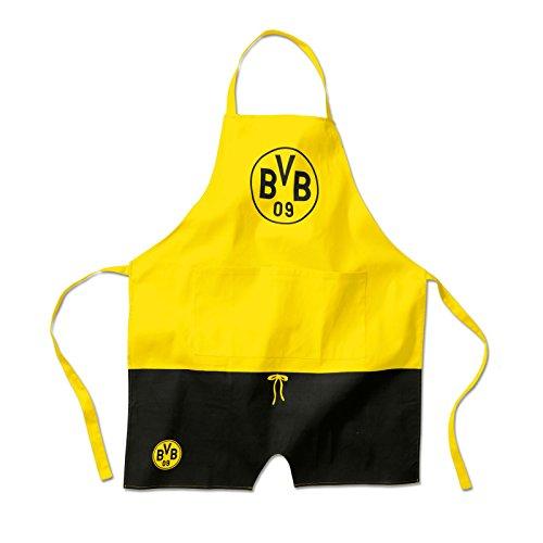 Borussia Dortmund, BVB-Kochschürze, Schwarz / Gelb, 0