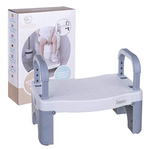 bisoo - Taburete Plegable - Escalón Infantil para Adaptador y Reductor WC...
