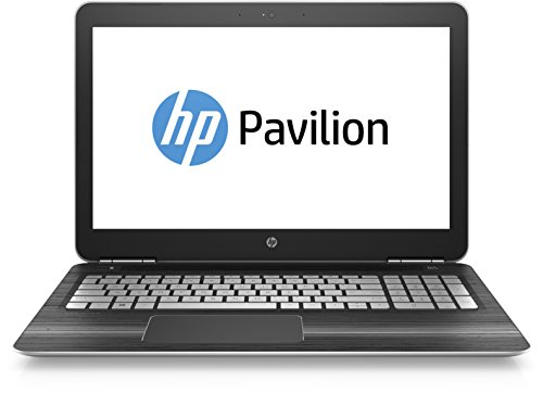 HP Pavilion (15-bc003ng) 39,6 cm (15,6 Zoll FHD IPS) Laptop (Intel Core i5-6300HQ, 8GB RAM, 1TB HDD, 128GB SSD, Nvidia GeForce GTX 950M, Windows 10) silber