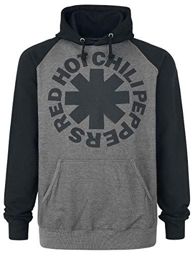 Red Hot Chili Peppers Black Asterisk Sweat à capuche anthracite/noir M