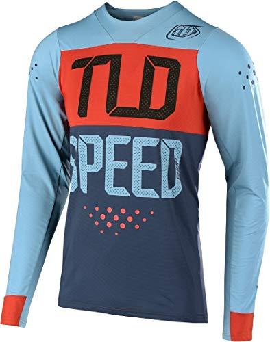 Troy Lee Designs Trail-Jersey Langarm Skyline Blau Gr. M