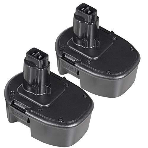 LENOGE 2Packs 14.4V 3000mAh NI-MH Reemplazo Batería para DEWALT DC9091 DC9094 DE9031 DE9038 DE9091 DE9092 DE9094 DE9502 DW9091 DW9094