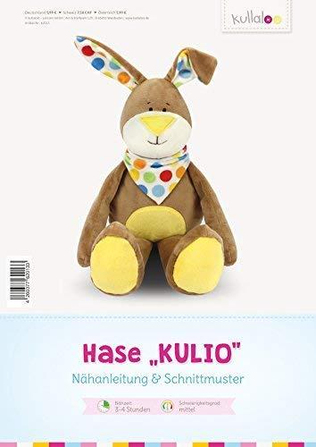 kullaloo - Schnittmuster & Nähanleitung für Kuscheltier Hase