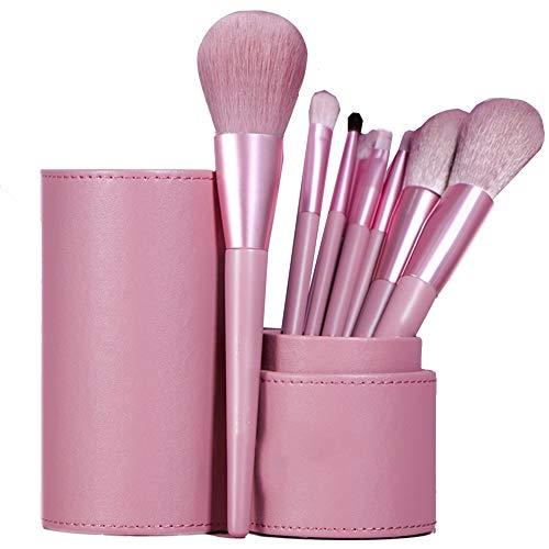ZXIAOMEI Maquillage multifonctionnel brosse 8 pièces de maquillage de débutant Super Soft quotidien populaire maquillage spirale Sourcils peigne outil de maquillage