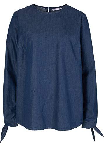 Versandhaus Damen Jeanstunika 7/8 Arm, 266195 in Blau 38
