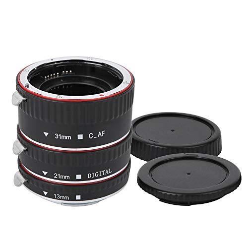 Kunststof Lichtgewicht Macro Zilver Lens Adapterring Koperlegering Automatisch scherpstellen Macro Lens Contact Adapterring voor Canon EOS Mount Camera