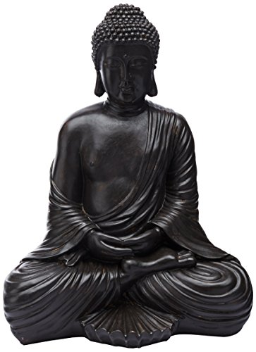 Oriental Furniture 17' Japanese Sitting Buddha Statue
