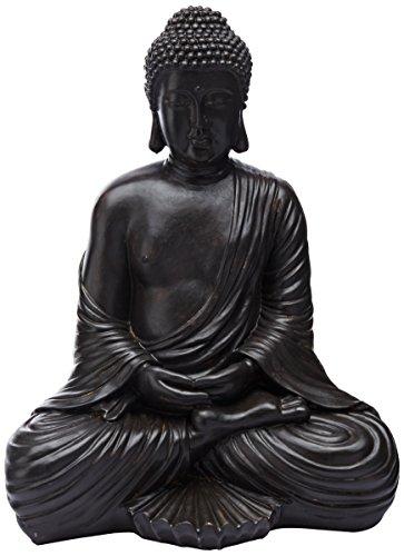 Oriental Furniture 17' Japanese Sitting Buddha Statue