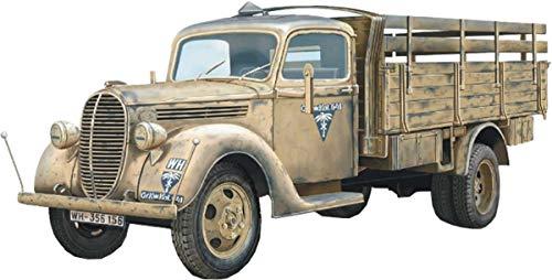 エース 1/72 ドイツ軍 フォード G917T 軍用トラック 1939年 ハードトップ型 プラモデル UA72580