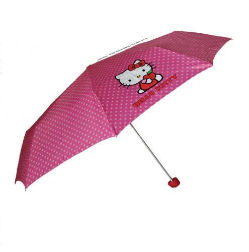 Paraguas Hello Kitty Plegable 53cm