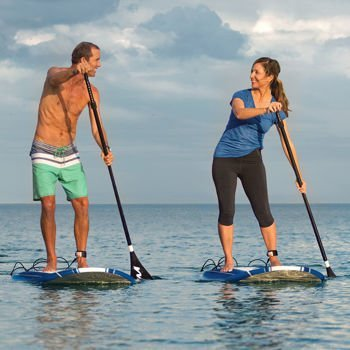 Wavestorm 9ft6 Stand Up Paddleboard 2-Pack // Foam Wax Free Soft Top...